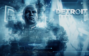 detroit,лидер,Маркус,синий,game, android,blue, android,Маркус,девиант,igra,девиант,детройт,Detroit: Become Human