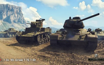 М3 лёгкий,Т-60,Т-70,World of Tanks,T-34,wot,wargaming