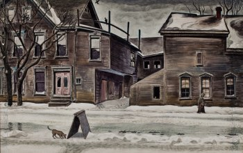 1929-41,Charles Ephraim Burchfield,Old Houses in Winter