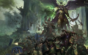battle,plague,демон,Mortarion,ultramarines,Nurgle,war,primarch,Death guard,space marines,chaos,warhammer 40 000