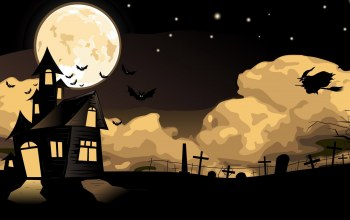 Halloween,Holidays,flying,#moon,fear,witch,cemetery,scary,house,bats