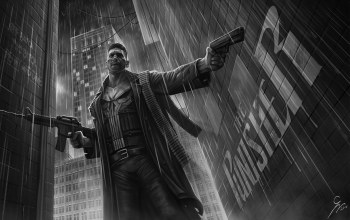 punisher,by Grzegorz Wlazło,illustration,frank castle,Фрэнк Касл,рисунок,comics,The Punisher,Grzegorz Wlazło,Марвэл,арт,касл, castle,Каратель,Marvel Comics