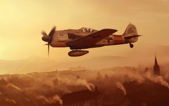 Fw.190A-9,artwork,JG1,wwii,fighter,Focke -Wulf,Germany,luftwaffe