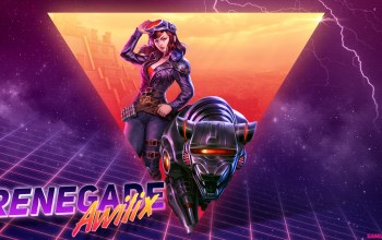 девушка,Synth,Outrun,молнии,фон,New Retro Wave,Renegade Awilix,арт,Синтвейв,арт,неон,robot,Ретровейв,synthwave,Retrowave,Кошка,Futuresynth,Smite