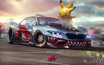 зубы,avto,машинa,Bmw,speedhunters,арт,Megalozombie M2,пикачу,Transport & Vehicles,car,Timothy Adry,арт,by Timothy Adry,тюнинг