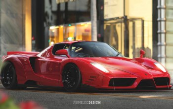 car,арт,by Abimelec Arellano,Abimelec Arellano,машинa,avto,superkar,Спорткар,Concept Art,Liberty Walk Ferrari Enzo,Transport & Vehicles,ензо,Ferrari enzo,Феррари