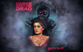 electronic rock,Dance With the Dead - 2018 - Loved to Death,Music,synthwave,madeinkipish,2018,cover,zombi,арт,electronic,ужас,девушка,Dark Synth,80s,New Retro Wave,Dance With the Dead,обложка,Loved to Death