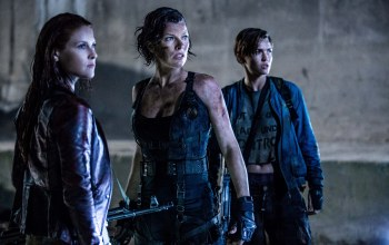 woman,Zombie,Biohazard: The Final Chapter,Milla Jovovich,Ak,weapon,cinema,Umbrella Corp. Umbrella Co.,Resident Evil: The Final Chapter,Alice Abernathy,kanji,strong,rifle,ак-47,blood,undead,Ali larter,umbrella,Alice,gun,Resident Evil,film,Róże,movie,claire redfield,Ruby Rose,биохазард,abigail