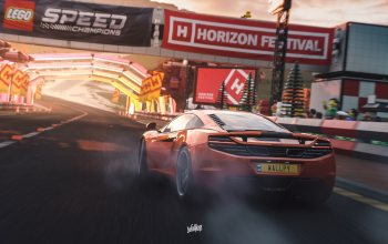 microsoft,Forza Horizon 4,game art,mp4-12c,by Wallpy,Mclaren