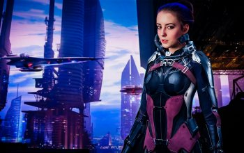spaceship,model,Sci-Fi,pilot,light,girl,skyscraper,mood,future,portrait,outdoors,Sight,Epic,young,female,city,pretty,look,fashion,posing,fantasy,cute,sky,evening,suit,dream