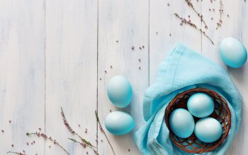 голубые,eggs,blue,паша,happy,корзина,Easter,яйца,tender,decoration,wood,spring