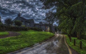 Craven District,Hetton,england