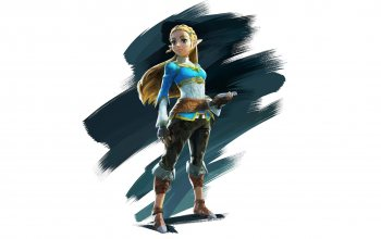 The Legend of Zelda: Breath of the Wild,game,painting art,simple background,pointy ears,elf,white background,The Legend of Zelda,zelda,fantasy,artwork,digital art,fantasy art