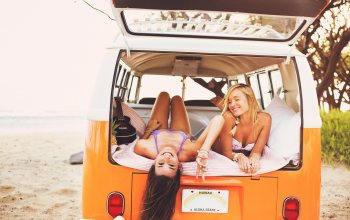 Rest,girls,joy,beach,#Sea,car,summer,mood