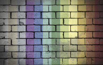 4k ultra hd background,wall,rainbow,colorful,Bricks,textures