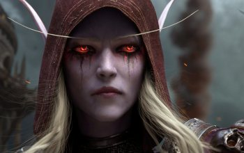 Леди-банши,Сильвана Ветрокрылая,Blizzard Entertainment,Sylvanas Windrunner,World-of-warcraft,Битва за Азерот