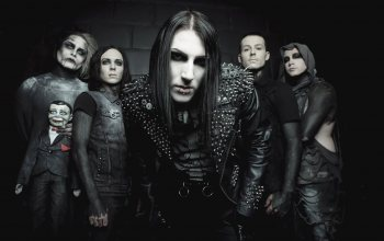 Motionless In White,gothic rock,post-hardcore,metalcore