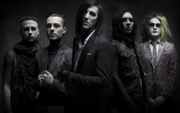 post-hardcore,metalcore,gothic rock,Motionless In White,рок-группа