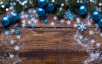 snow,Merry,шарьі,New Year,Новый Год,снежинки,wood,decoration,snowflakes, снег,елка,fir-tree,balls,blue,Рождество,christmas,ветки ели