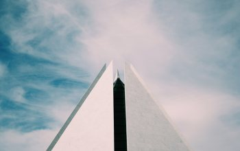 sky,pyramid,clouds