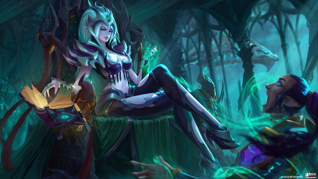 Morellia,style,character,book,girl,fantasy,Morellia the Lich Queen!,Katya Cyan,spell,арт,illustration
