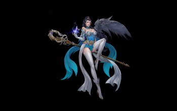 арт,character,style,figure,girl,LIU Mingxing,spell,wizard,dress,illustration,fantasy,staff,background