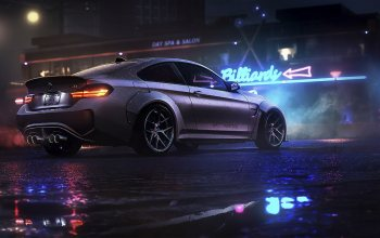 Bmw,Need For Speed 2015,game,ноч,нфс,арт,Need for Speed,BMW M4,Electronic Arts,#night