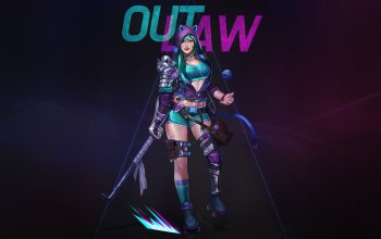 scythe,character,Rollerskate,girl,style,minimalism,Hoodie,illustration,outlaw,Hyun sung oh,арт,figure,fantasy