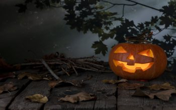 pumpkin,leaves,Halloween,листья,хеллоуин,autumn,осен,тыква