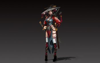 character,illustration,jae gun hyun,asian,арт,style,figure,girl,fantasy,Satkat