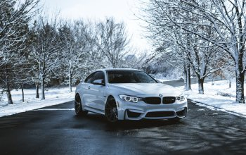winter,Bmw,White