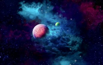 cloud,planets,galaxy‬,space,2k hd widescreen background,небула
