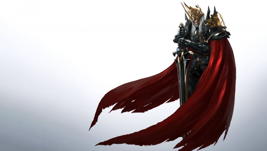 weapon,illustration,sword,king,game art,character,Gladiator,minimalism,knight,armor,background,fantasy,P.E.K.K.A,арт,style,Blade 2