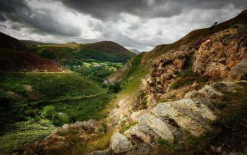 Sychnant Pass,Уэльс,North Wales