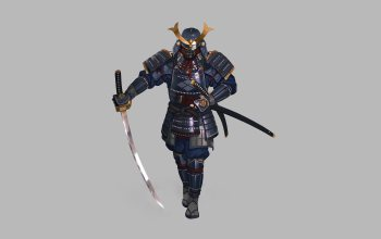 Hyun sung oh,самураи,illustration,character,armor,katana,style,арт,fantasy,«warrior»