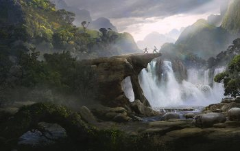Guillem H. Pongiluppi,Duel in the Jungle,водопад,Solomon Kane