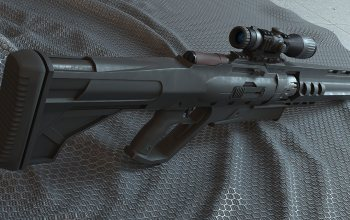 scope,Sci-Fi, рендеринг,оружие,futuristic,прицел,weapon,rifle,футуристический,винтовка