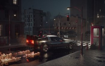 Science Fiction,delorean,Motion Graphics,Back to the Future